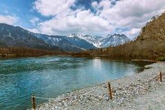 Kamikochi Nagano Japão Imagem de Stock