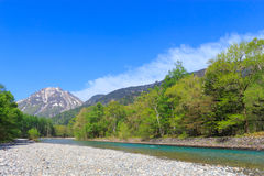 Kamikochi in Nagano, Japan Royalty Free Stock Photography