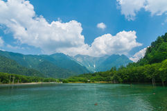 Kamikochi in Nagano, Japan Royalty Free Stock Image