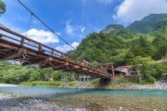 Kamikochi, Nagano, Japon Image libre de droits