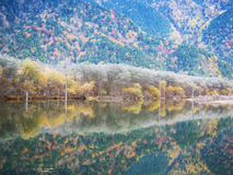 Kamikochi national park Royalty Free Stock Photo