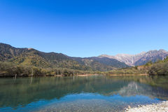 Kamikochi One of the most beautiful place in Japan Royalty Free Stock Photo