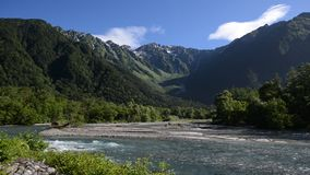 Kamikochi park narodowy w lato sezonie zbiory