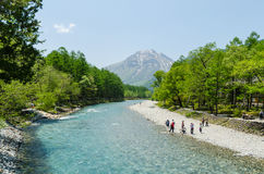 Kamikochi park narodowy w Nagano Japan Zdjęcie Royalty Free