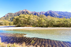 Kamikochi um do lugar o mais bonito em Japão Imagens de Stock Royalty Free