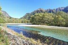Kamikochi um do lugar o mais bonito em Japão Imagem de Stock Royalty Free