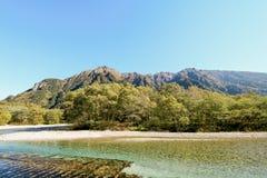 Kamikochi uno di posto più bello nel Giappone Fotografie Stock