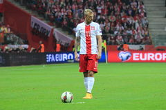 Kamil Grosicki Royalty Free Stock Images