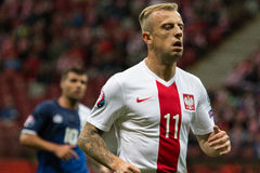 Kamil Grosicki Royalty Free Stock Photography