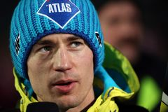 Kamil Stoch Stock Afbeelding