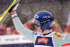 Kamil Stoch dans Zakopane Photo stock