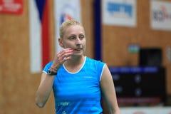 Kamila Augustyn - badminton Stock Image