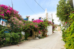 Kamilari. Is a beautiful small village on the island of Crete, Greece Stock Photo