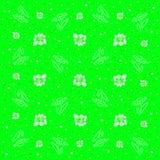 Kamillenhintergrund Stockbild