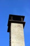 Kamin auf dem Dach Lizenzfreies Stockbild
