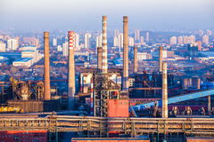Kamin der Schwerindustriefabrik in Peking lizenzfreies stockfoto