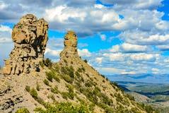 Kamin-Felsen-Nationaldenkmal - Colorado Lizenzfreies Stockbild