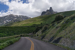 Kamin-Felsen in Ost-Nevada lizenzfreie stockbilder