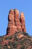 Kamin-Felsen in Sedona Arizona Lizenzfreie Stockfotos