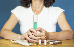 Kamin-Impfstoff Lizenzfreies Stockbild