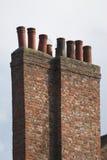 Kamin-Stapel Stockbilder