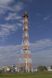 Kamin von der Erdölraffinerie Lizenzfreies Stockbild
