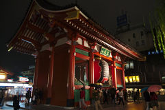 Kaminarimon gate stock photos
