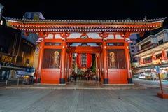 Kaminarimon Gate At Sensoji Temple In Tokyo Royalty Free Stock Photo