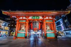 Kaminarimon Gate at Sensoji Temple in Tokyo stock photos