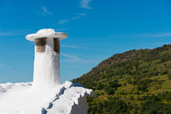 Kamine in Capileira-Stadt Lizenzfreie Stockbilder