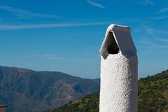 Kamine in Capileira-Stadt Lizenzfreies Stockbild