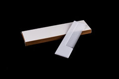 Kaminzameling en doosreeks van badkamers Stock Foto
