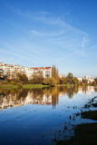 Kamionkowskie Lake in Skaryszewski Park in Warsaw Royalty Free Stock Images