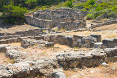 Kamiros, Ancient ruins, Rhodes Stock Images