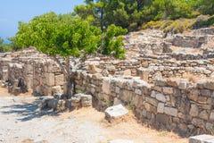 Kamiros, Island of Rhodes Greece Stock Photography