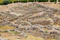 Kamiros ruins. Rhodes, Greece Stock Photography
