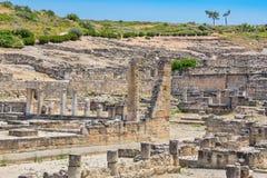 Kamiros ruins. Rhodes, Greece Stock Image