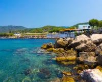 Kamiros Skala Ρόδος Ελλάδα Στοκ φωτογραφίες με δικαίωμα ελεύθερης χρήσης