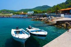 Kamiros Skala Rhodes Greece Foto de archivo libre de regalías