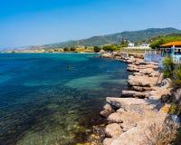 Kamiros Skala Rhodes Greece Imagens de Stock