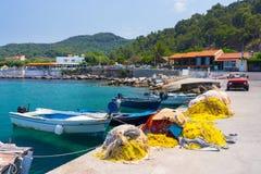 Kamiros Skala Rhodes Greece Foto de Stock