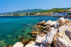 Kamiros Skala Rhodes Greece photo libre de droits