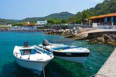 Kamiros Skala Rhodes Greece photo stock