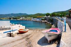 Kamiros Skala Rhodes Greece Stock Image