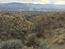 Kamloops city hike Stock Photos