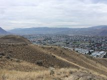 Kamloops city hike Royalty Free Stock Photography