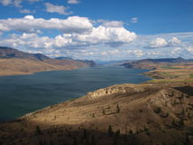 Kamloops jezioro Zdjęcie Stock