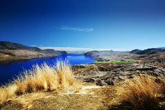 Kamloops Lake. The view of Kamloops lake from east side Royalty Free Stock Photography