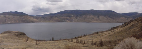 Kamloops Lake. View of Kamloops Lake near Kamloops, British Columbia Royalty Free Stock Photo