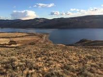 Kamloops landskap Arkivbild